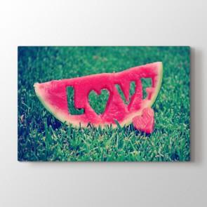 Aşkın Tadı Tablosu Kanvas Tablo Modeli