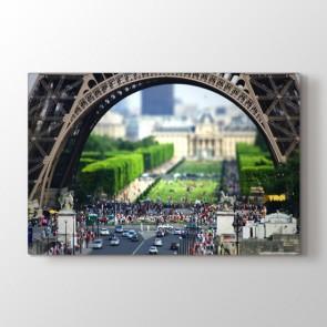 Eiffelin İltişamı Tablosu Kanvas Tablo Modeli