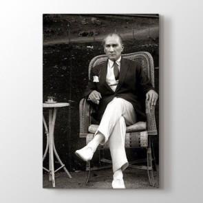 Atatürk Karizması Tablosu | Atatürk Kanvas Tabloları