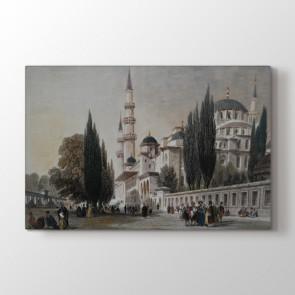 Osmanlı Cami Avlusu Tablosu - Tablo Dekorasyon