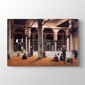 Osmanlı Dönemi Camide İbadet Tablosu - Klasik Tablolar