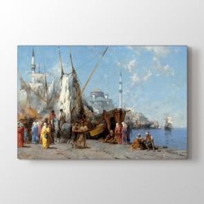 Osmanlı Dönemi Liman Tablosu - Baskı Tablo