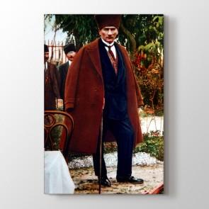 Atatürk Duruşu Tablosu | Atatürk Tabloları - duvargiydir.com