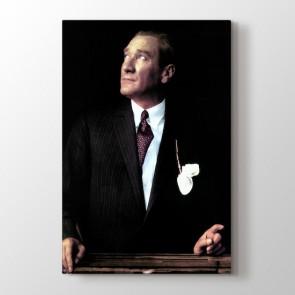 Mustafa Kemal Tablosu | Atatürk Kanvas Tabloları - duvargiydir.com