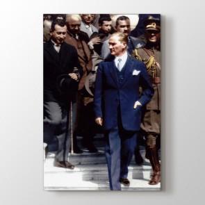 Atatürk Tarzı Tablosu | Atatürk Kanvas Tabloları - duvargiydir.com