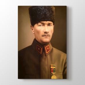 Atatürk Askeri Üniformalı Tablosu | Atatürk Tabloları - duvargiydir.com