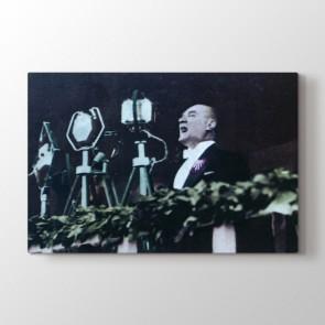 9 Eylül Atatürk Mesajı Tablosu | Atatürk Tabloları - duvargiydir.com