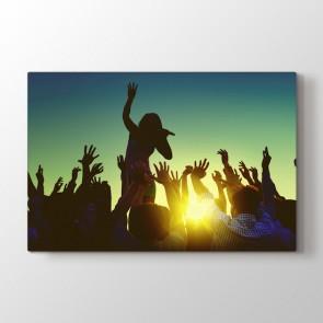 Rock Konseri Tablosu | Konser ve Müzik Tabloları - duvargiydir.com