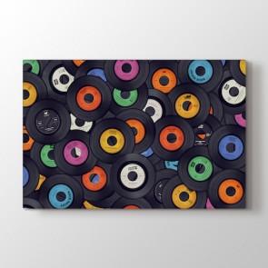 Plak Dekorasyonu Tablosu | Müzik Tabloları - duvargiydir.com