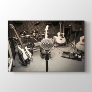 Kayıt Stüdyosu Tablosu | Müzik ve Entrüman Tabloları - duvargiydir.com