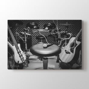 Performans Stüdyosu Tablosu | Müzik ve Jazz Tabloları - duvargiydir.com