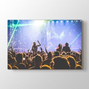 Çılgın Konser Tablosu | Müzik ve Konser Tabloları - duvargiydir.com
