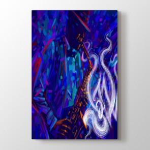 Jazz Temalı Sanat Tablosu | Müzik ve Jazz Tabloları - duvargiydir.com