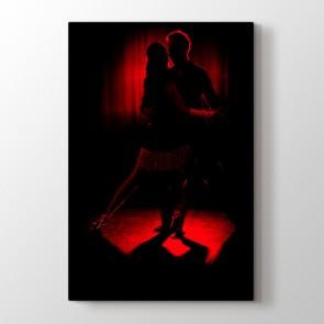 Kızıl Dans Tablosu | Dans ve Müzik Tabloları - duvargiydir.com