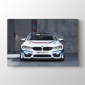BMW GT4 Racing Car Tablosu | Araba Tablo Modeli - duvargiydir.com