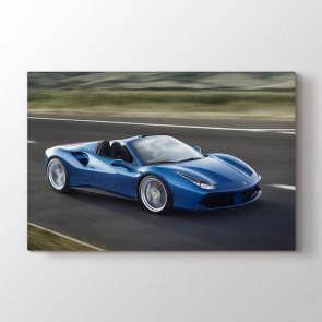Ferrari 488 Spider Tablosu | Klasik Araba Tabloları - duvargiydir.com