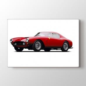 1960 Model Ferrari Tablosu | Klasik Araba Tabloları - duvargiydir.com