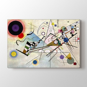 Kandinsky Composition VIII | Ünlü Tablolar