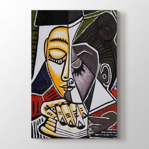 Tete Dune Femme Lisant Pablo Picasso | Tablo Modelleri