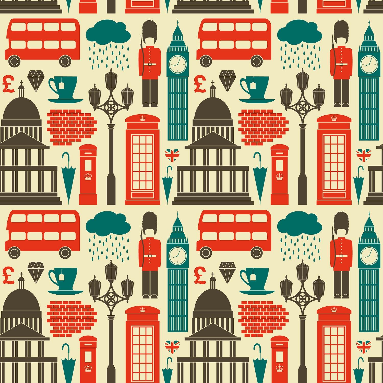 Londra'nın Sembolleri Duvar Kağıdı