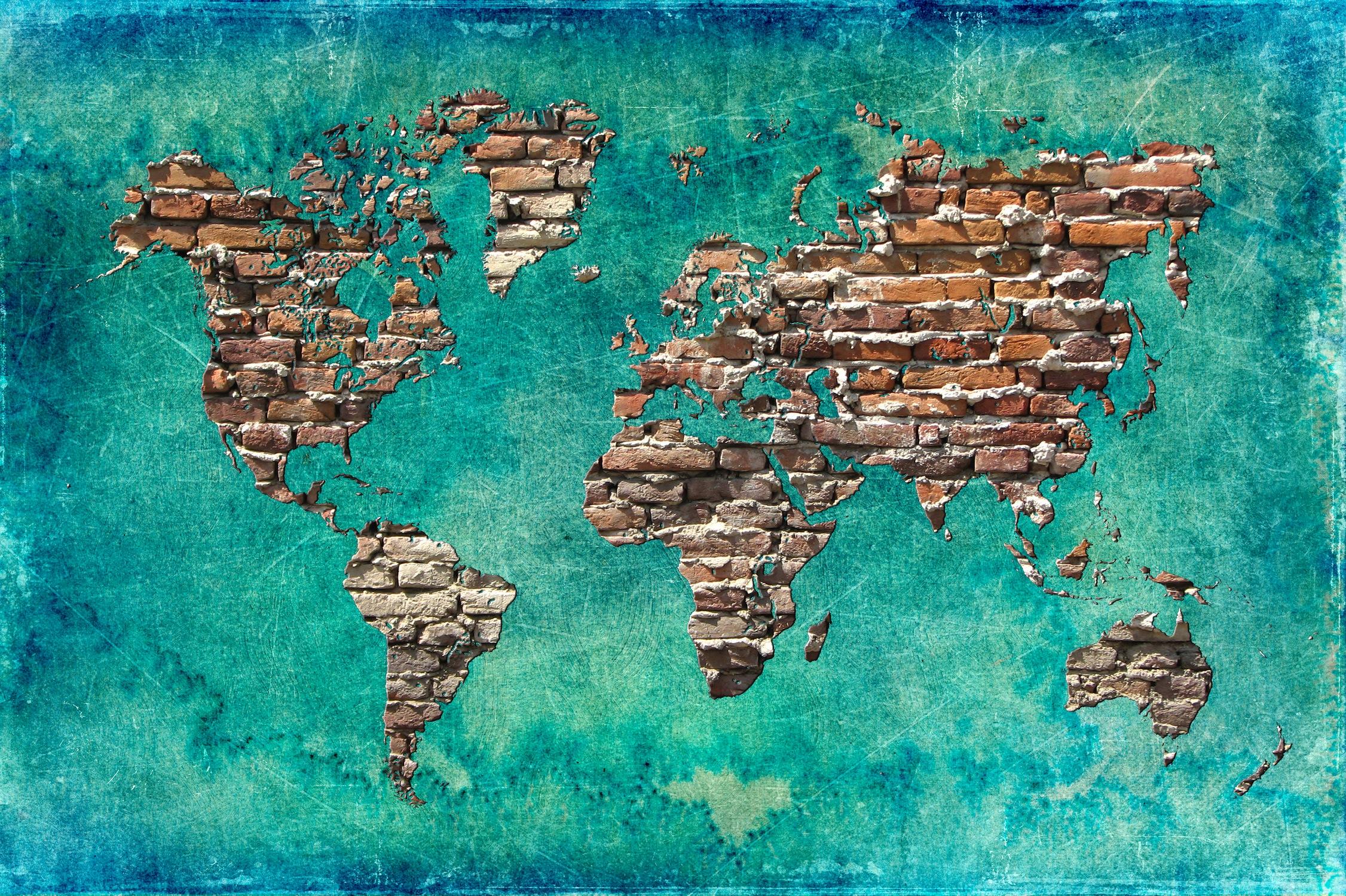 Dünya'dan Kalan - Resimli Duvar Dekorasyonu