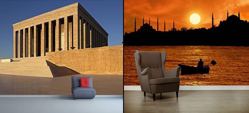 Türkiye 3 Boyutlu Duvar Kağıdı Modelleri
